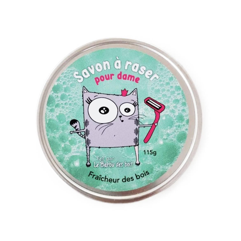 Savon à raser pour dames